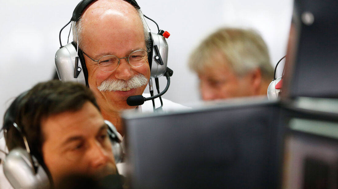 Dieter Zetsche - Mercedes - GP Deutschland 2016 - Hockenheim