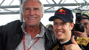 Dietrich Mateschitz mit Sebastian Vettel