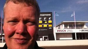 Dirk Johae auf dem Goodwood Circuit
