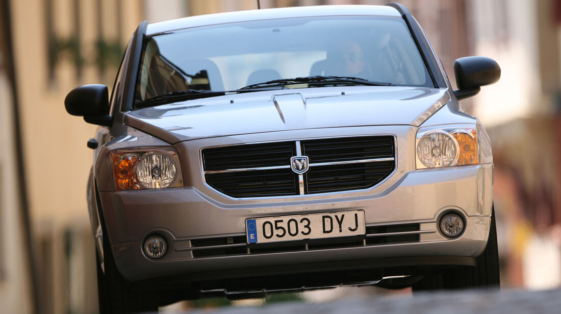 Dodge Caliber 1.8, Heckansicht