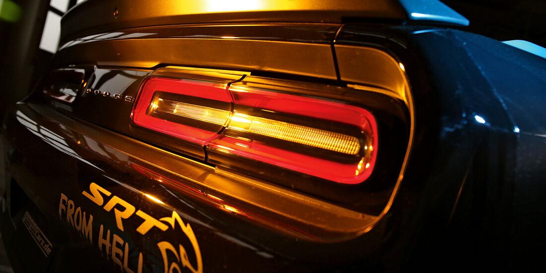 Dodge Challenger Hellcat, Heckleuchte
