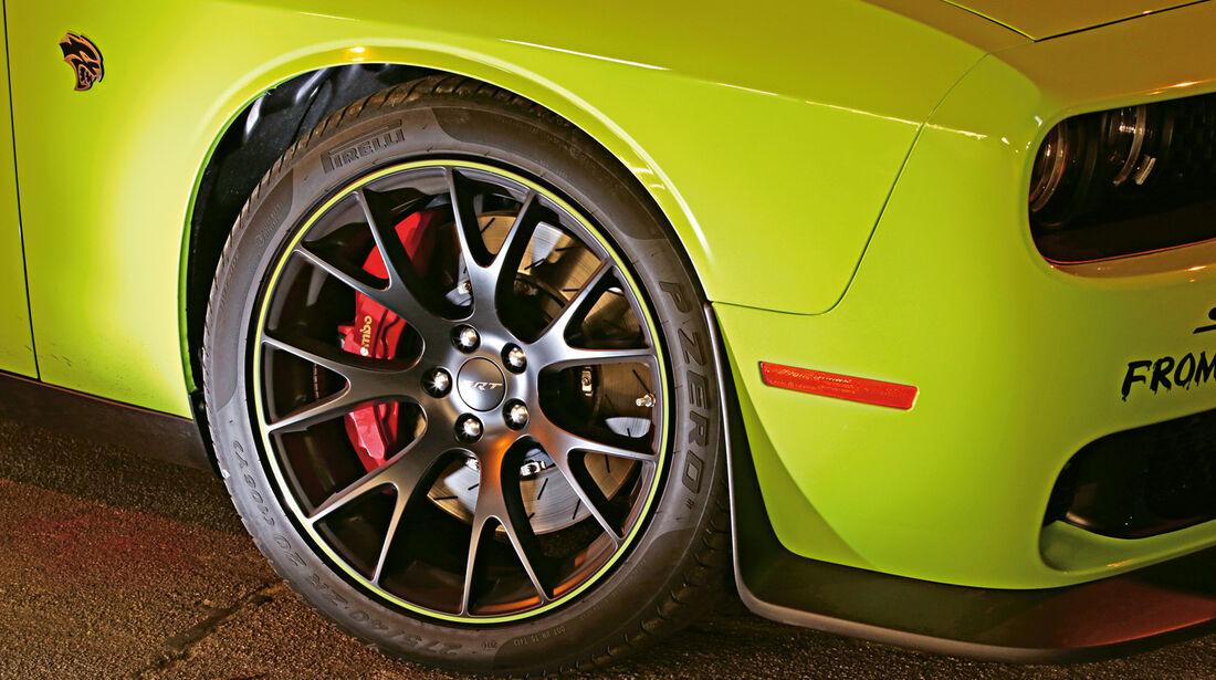 Dodge Challenger SRT Hellcat, Rad, Felge