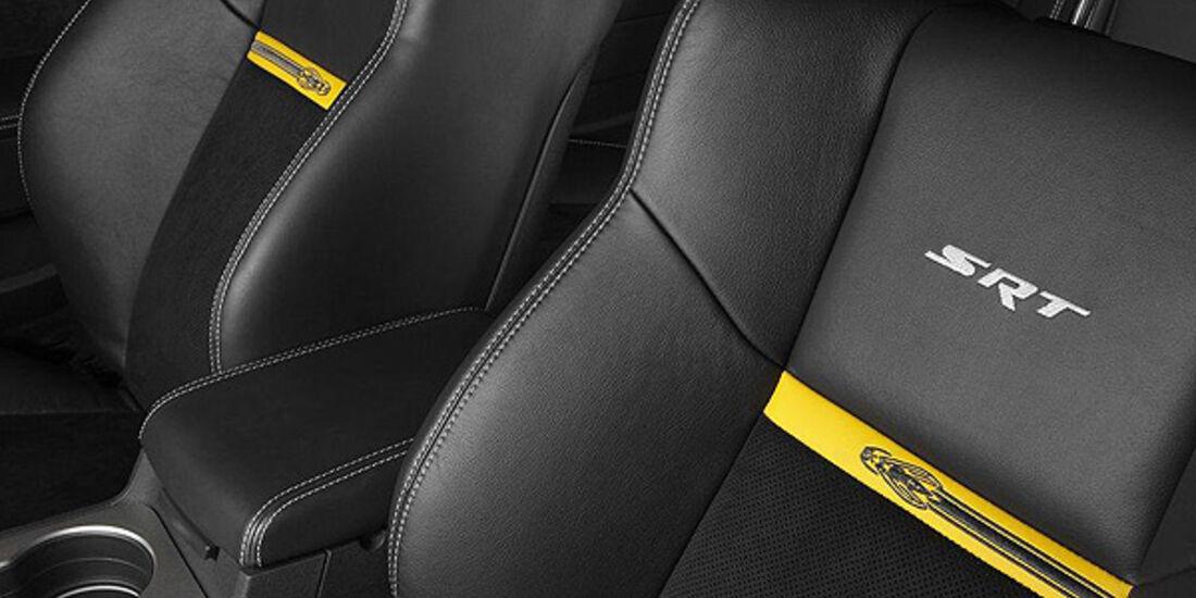 Dodge Challenger SRT8 Super Bee, Innenraum, Sitze