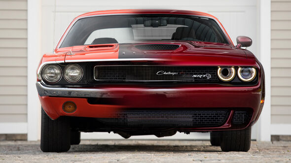 Dodge Challenger alt neu Collage Retusche Zwei