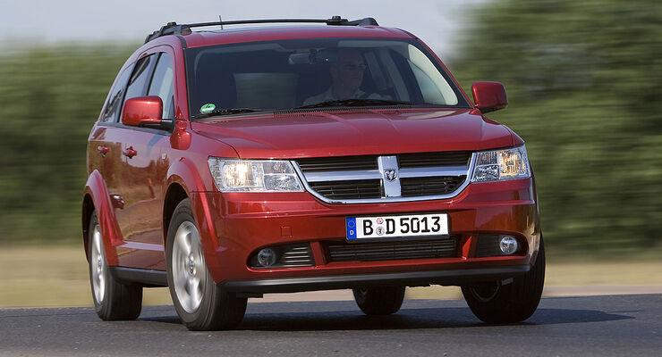 Dodge mit Autogas: Journey Eco mit bivalentem Antrieb ...