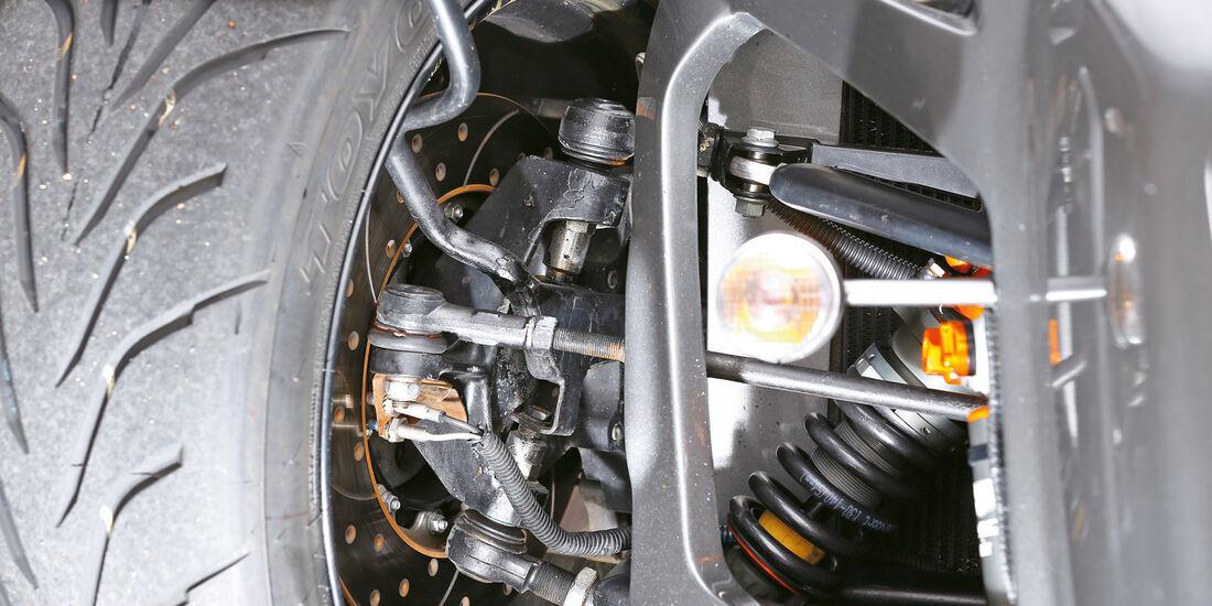 Donkervoort D8 GTO Performance, Radaufhängung