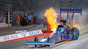 Dragster, Hockenheim, Burnout