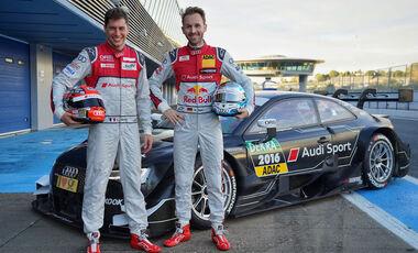 Audi gibt DTM-Fahrer bekannt