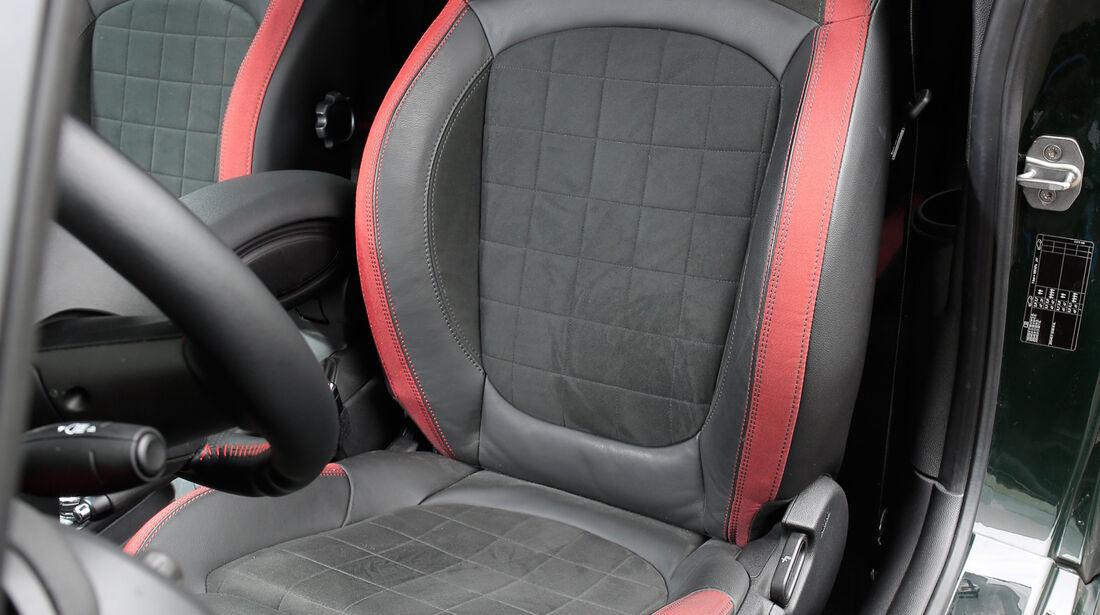 Dynamic-Automotive-Mini JCW, Fahrersitz