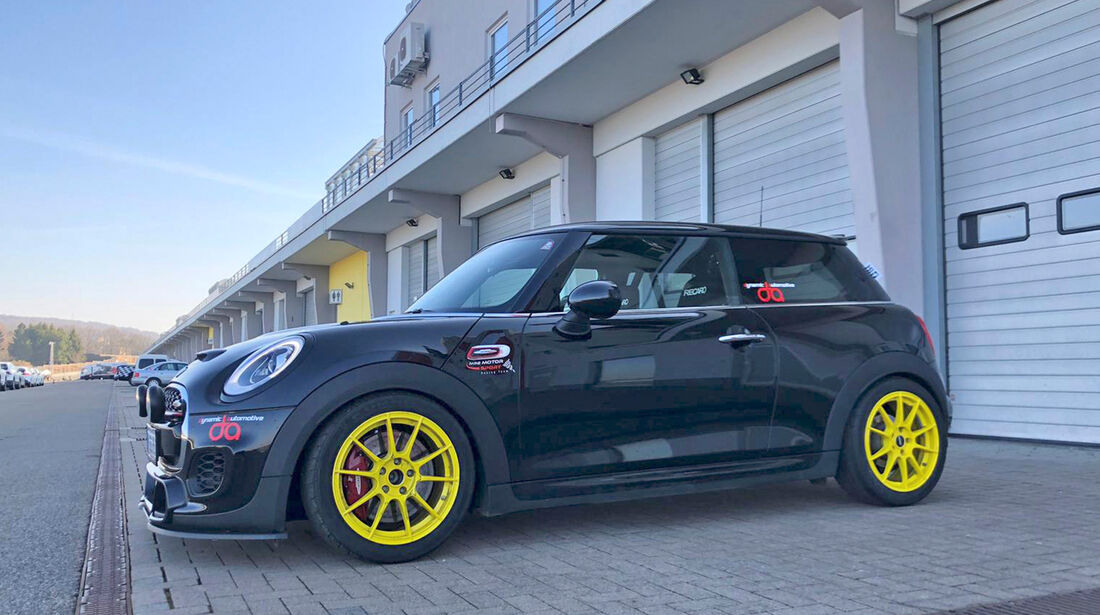 Dynamic Automotive Mini JCW - Tuning - Kleinwagen - sport auto Award 2019