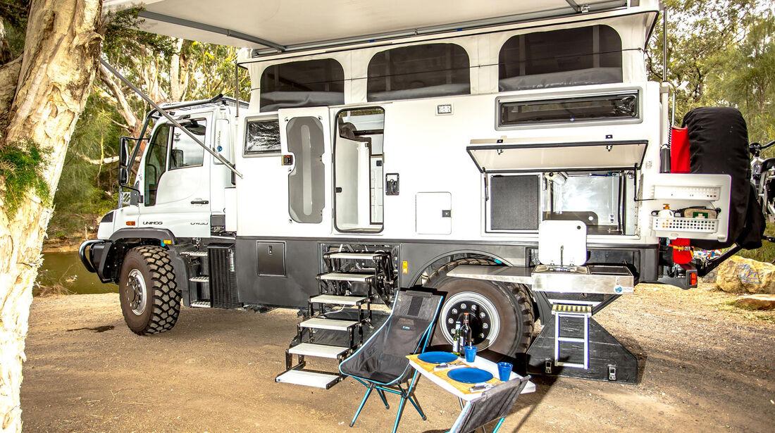 EarthCruiser Overland Vehicles Expeditionsmobil Explorer XPR440