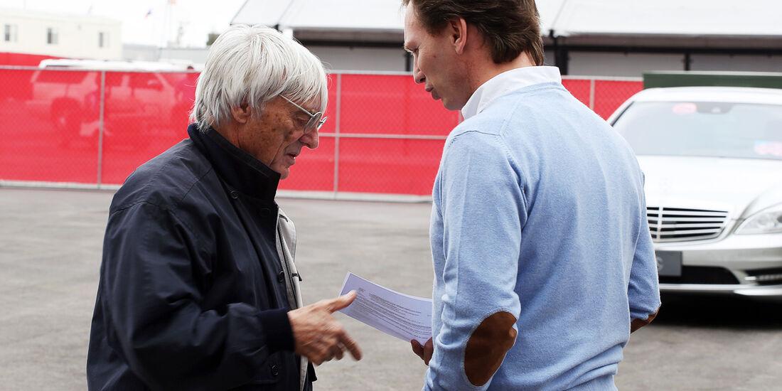 Ecclestone & Horner - Formel 1 - GP USA - Austin - 15. November 2012