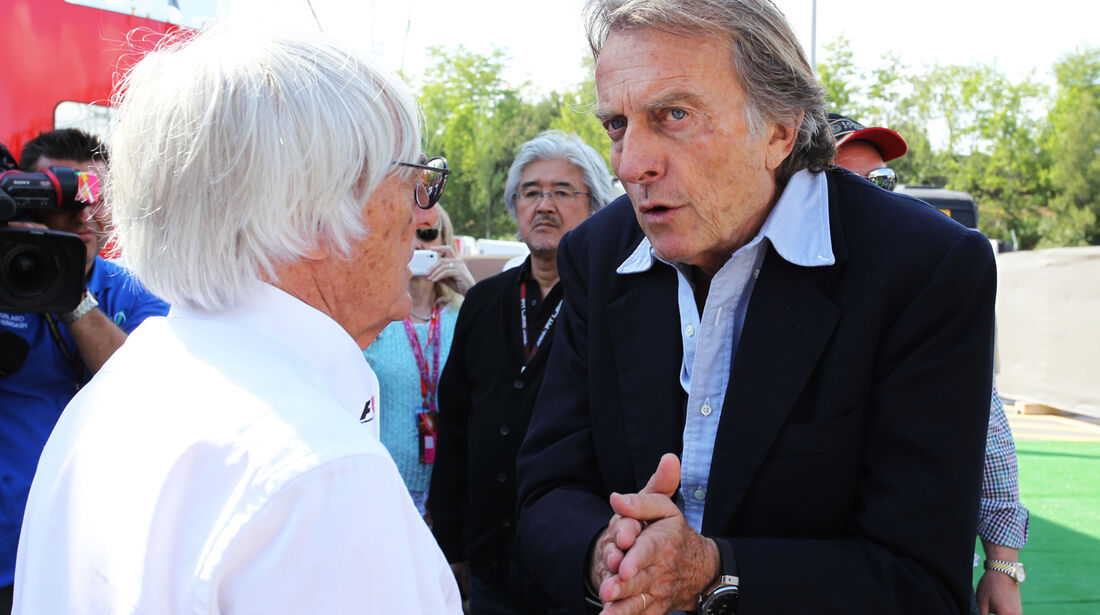 Ecclestone & Montezemolo - Formel 1 - GP Spanien - 11. Mai 2013