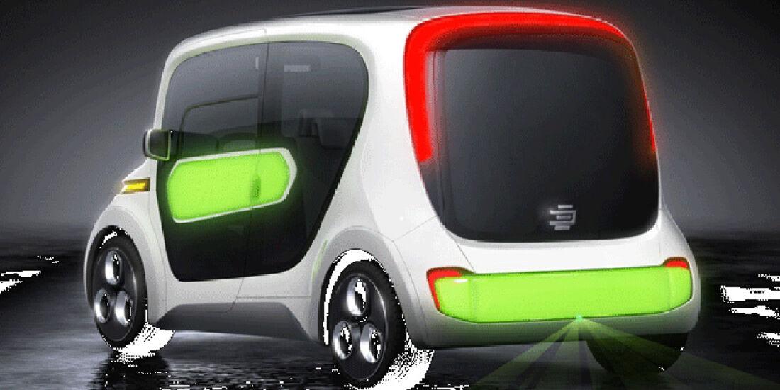 Edag Light Car Car-Sharing Genf 2011,