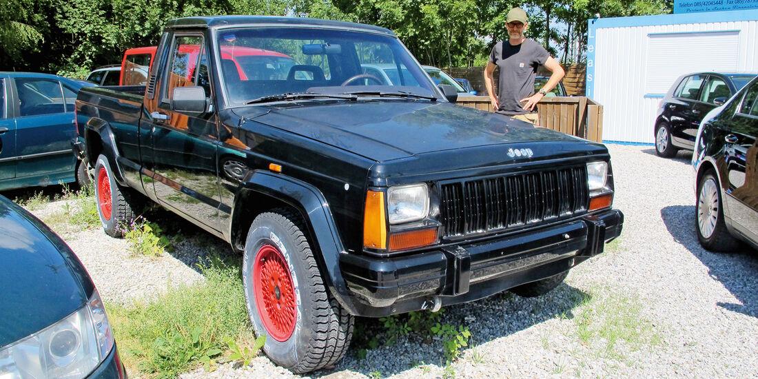 Einkaufs-Tour, Jeep Comanche