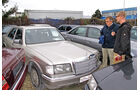 Einkaufs-Tour, Mercedes 300 SE