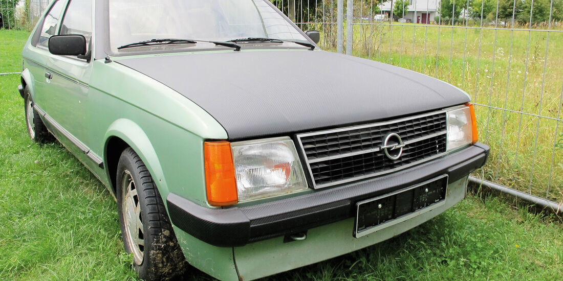 Einkaufs-Tour, Opel Kadett 1.3