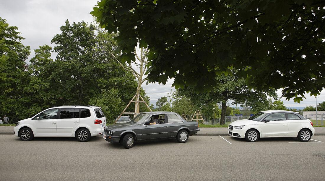 Einparktest, BMW 3er E30