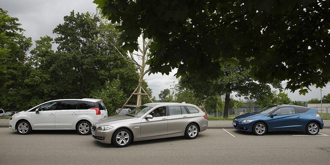 Einparktest, BMW 5er Touring