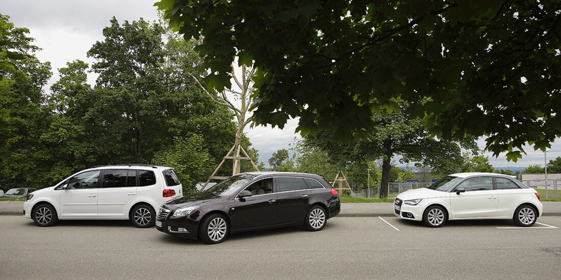 Einparktest, Opel Insignia Sports Tourer