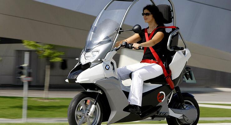 bmw plant elektro roller e roller kommt 2013 auto. Black Bedroom Furniture Sets. Home Design Ideas