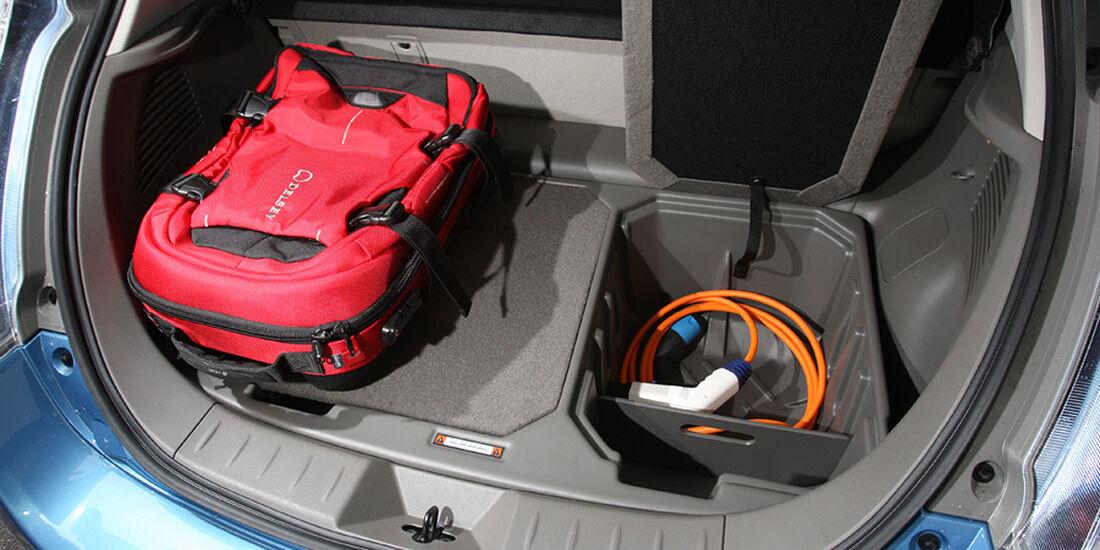 Elektroauto Nissan Leaf Kofferraum
