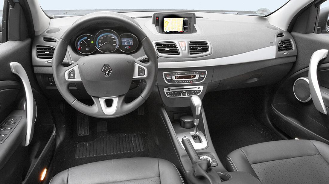 Elektroauto Renault Fluence Z. E Cockpit