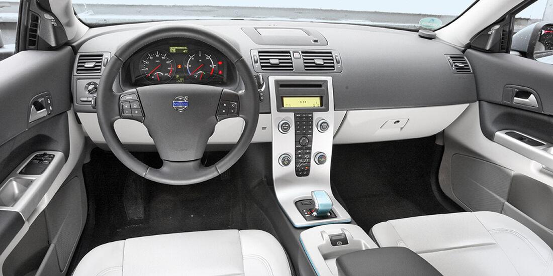 Elektroauto Volvo C30 Electric Cockpit