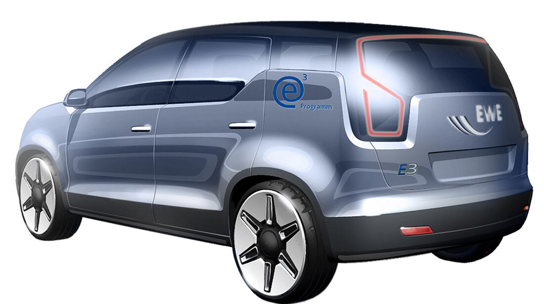 Elektroauto von Karmann