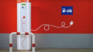 Elektromobilität, Stromtankstelle