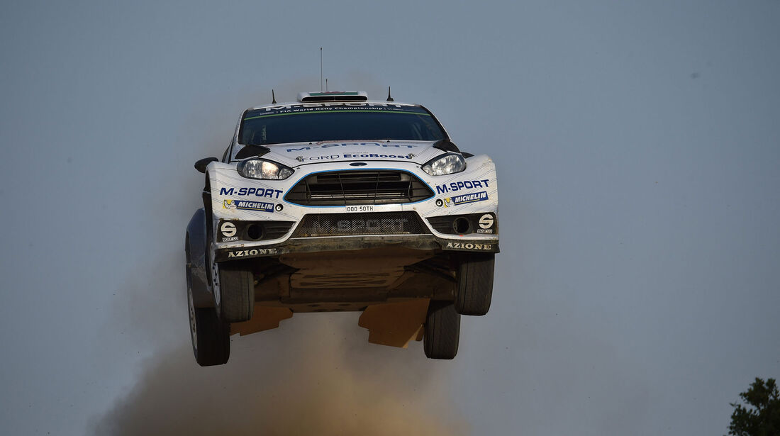 Elfyn Evans - Ford - Rallye Sardinien - WRC