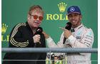 Elton John & Lewis Hamilton - GP USA 2015