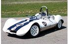 Elva Mk V Sports Racer -Frontansicht