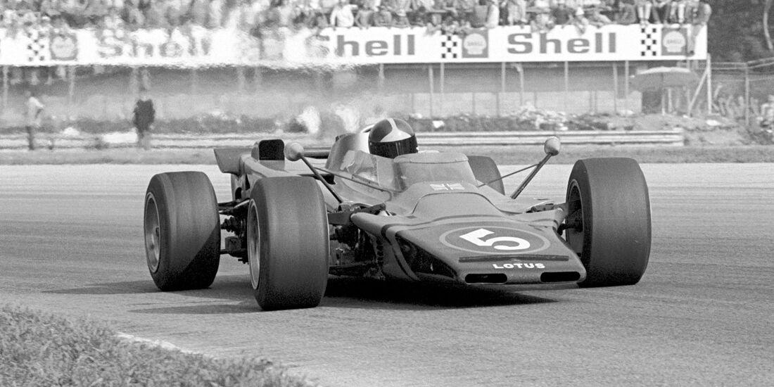 Emerson Fittipaldi - Lotus 56 - GP Italien 1971 - Monza