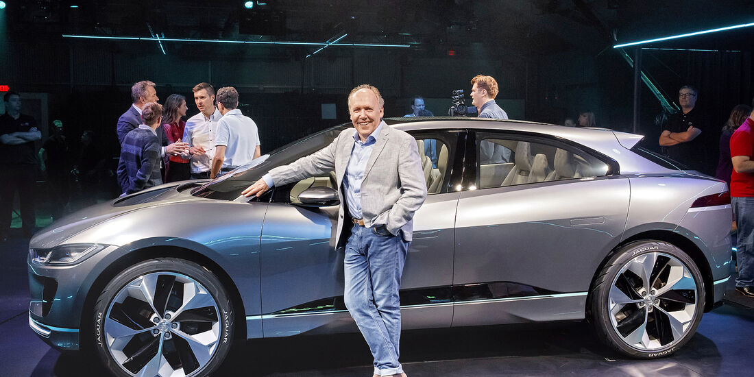 Entwicklungsprozess Jaguar I-Pace, I-Pace