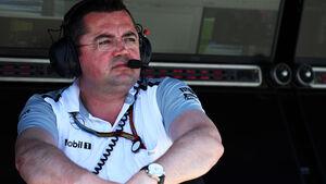 Eric Boullier - McLaren - Formel 1 - GP Deutschland - Hockenheim - 18. Juli 2014