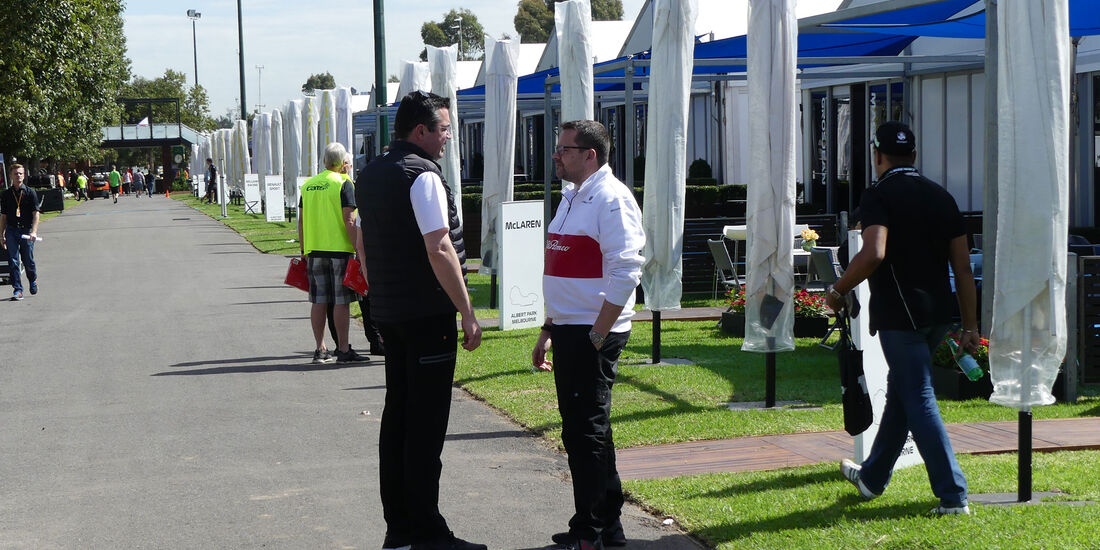 Eric Boullier - McLaren - GP Australien 2018 - Melbourne - Albert Park - Mittwoch - 21.3.2018