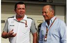 Eric Boullier & Ron Dennis - McLaren - Formel 1 - GP Japan - Suzuka - 4. Oktober 2014