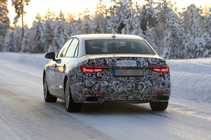 Audi A4 2019 Mit Xxl Facelift Gegen Bmw 3er Auto Motor Und Sport