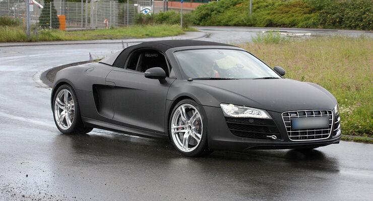 Erlkönig Audi R8 Spider