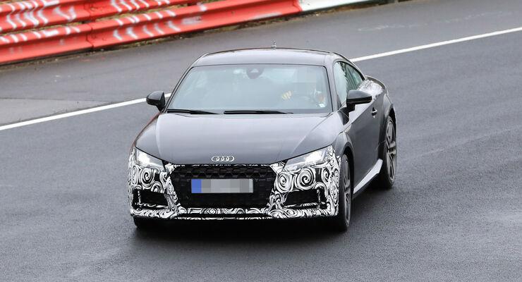 Neuer Audi TT Facelift (2018): Daten, Bilder, Preis - auto motor und ...