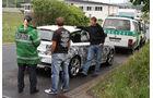 Erlkönig BMW 1er Polizeikontrolle