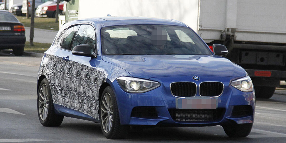 Erlkönig BMW 1er Zweitürer