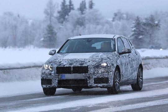 Erlkönig BMW 1er