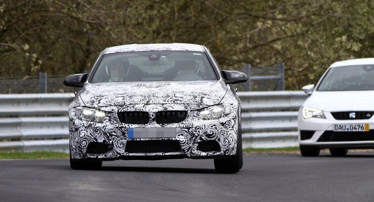 Erlkönig BMW M4 Coupé