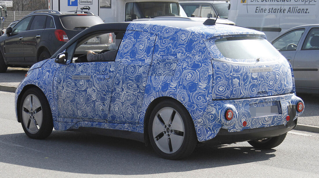 Erlkönig BMW i3