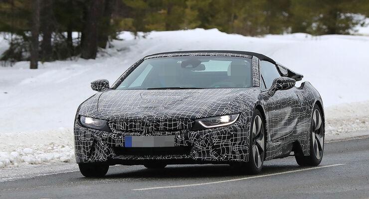 Erlkönig BMW i8 Spyder