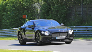 Erlkönig Bentley Continental GT
