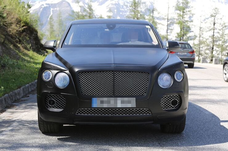 Erlkönig Bentley SUV