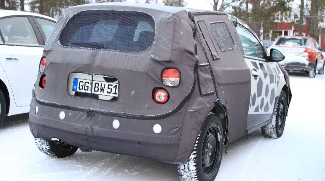 Erlkönig Chevrolet Aveo Viva